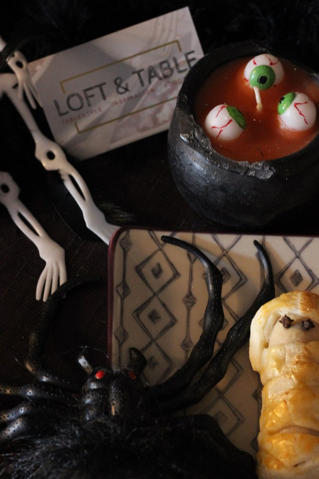 Merienda de Halloween Loft & Table 2016