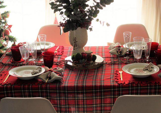 Decoración de la mesa Navidad Loft & Table