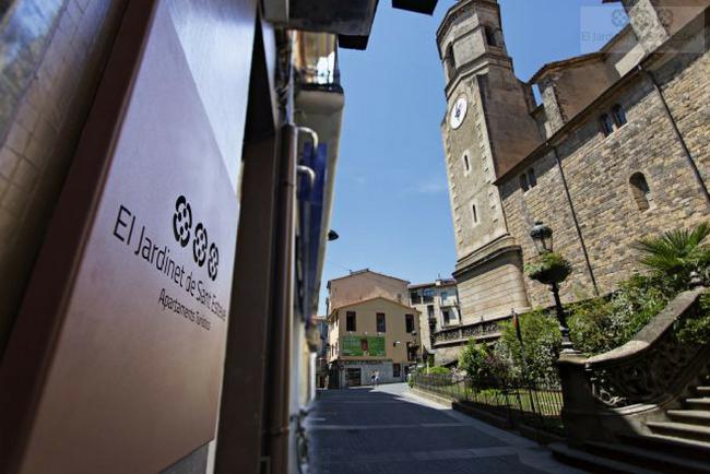 El Jardinet de Sant Esteve, unos apartamentos bonitos en Olot