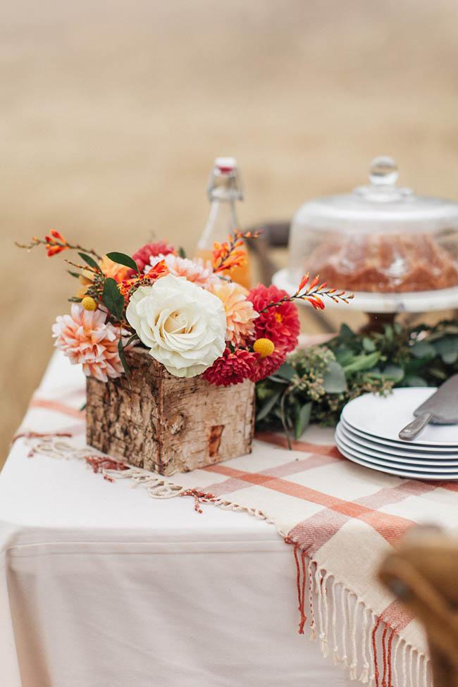 Un picnic otoñal