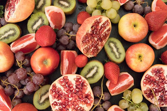 Espectacular bandeja de frutas