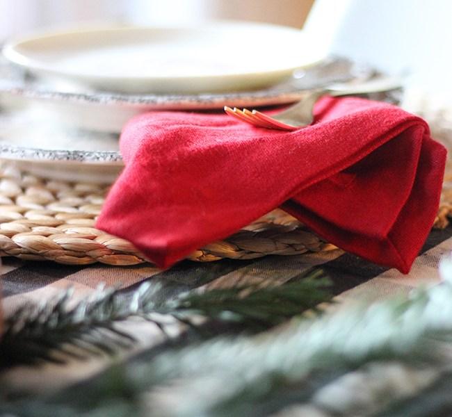 Cómo decorar tu mesa para Navidad