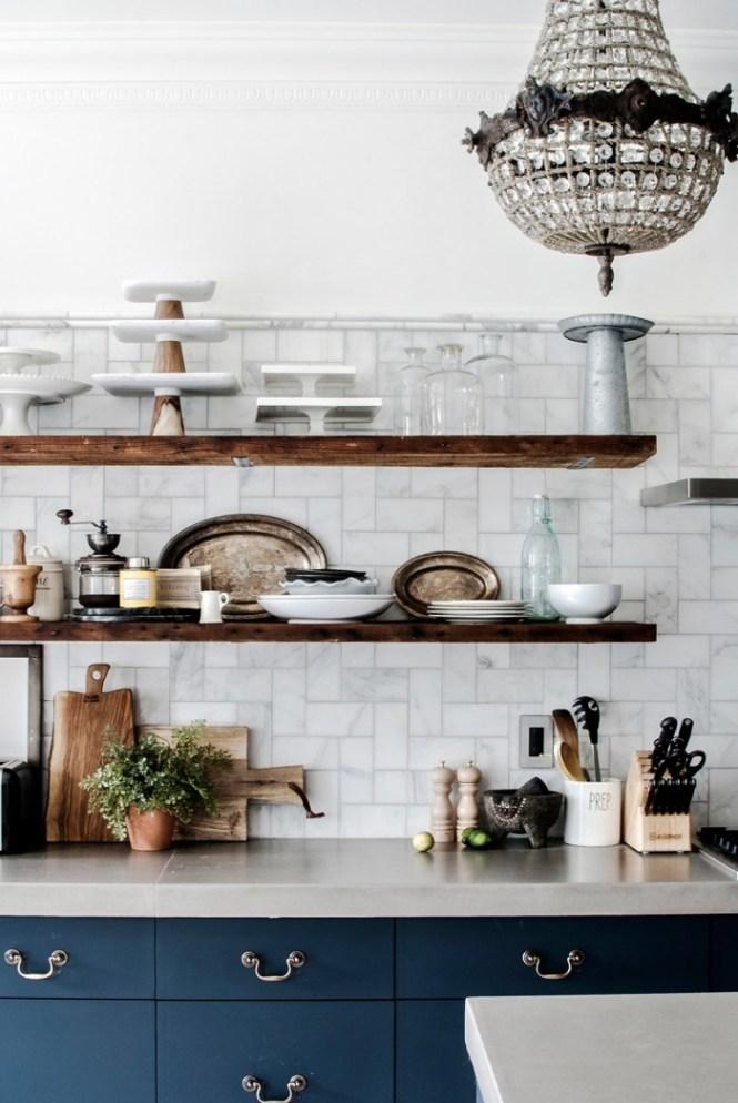 Classic Blue 2020 en cocinas