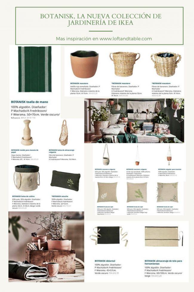 La nueva colección de jardinería de Ikea