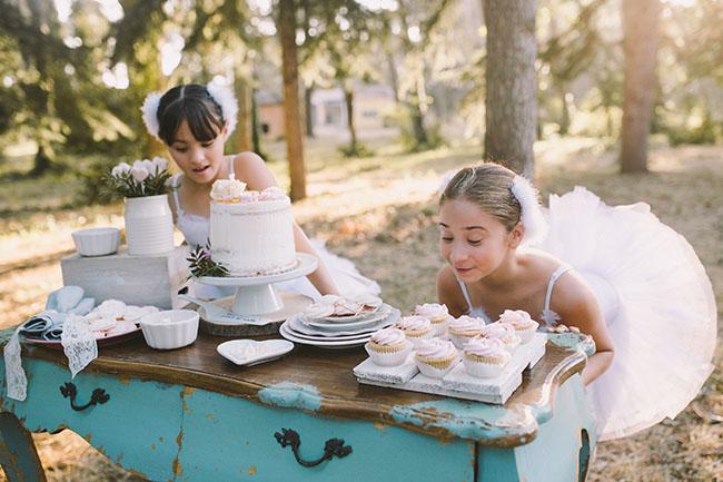 Bailarinas en Esencia de Cisne- shooting boda