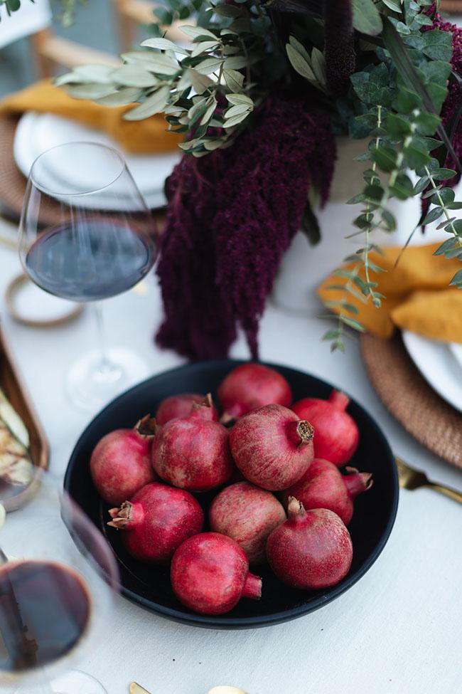 Mangranas, un elemento muy otoñal en tus mesas