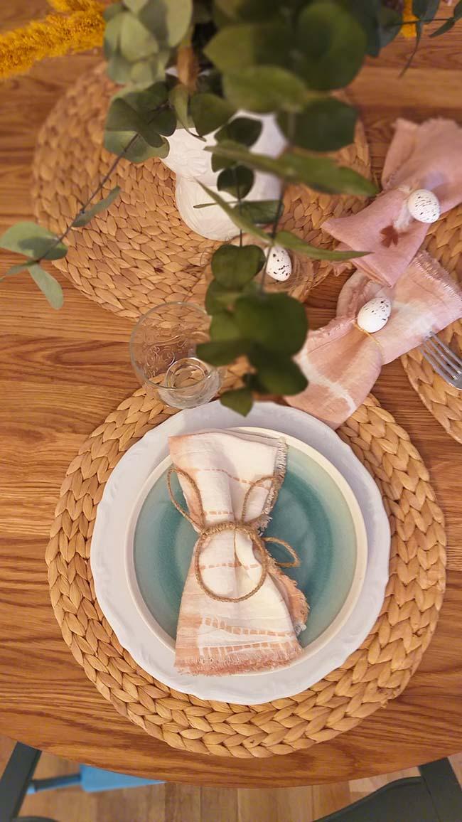 """""""Comer bonito"""" en esta mesa"""