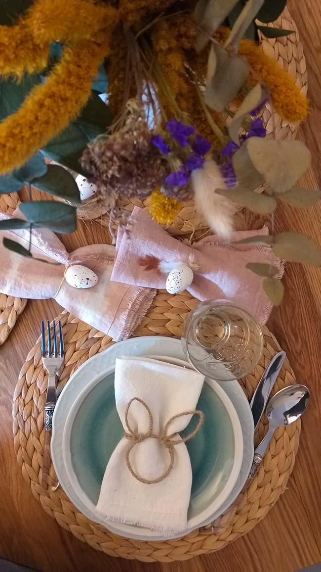 Una mesa perfecta para estas Pascuas