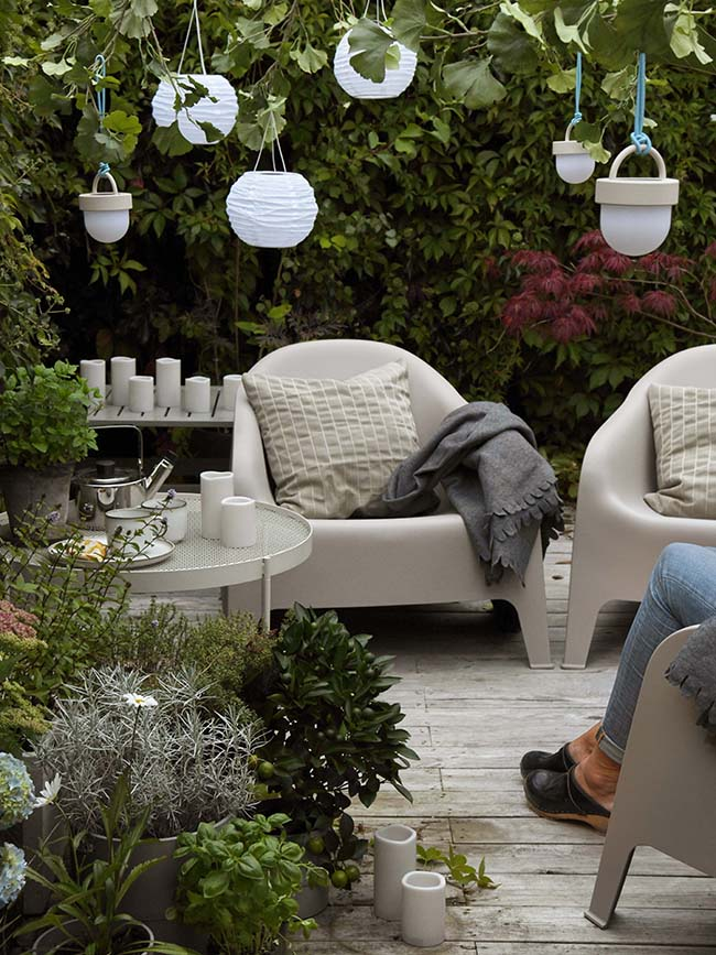 ¿Cómo quiero decorar mi nuevo patio?