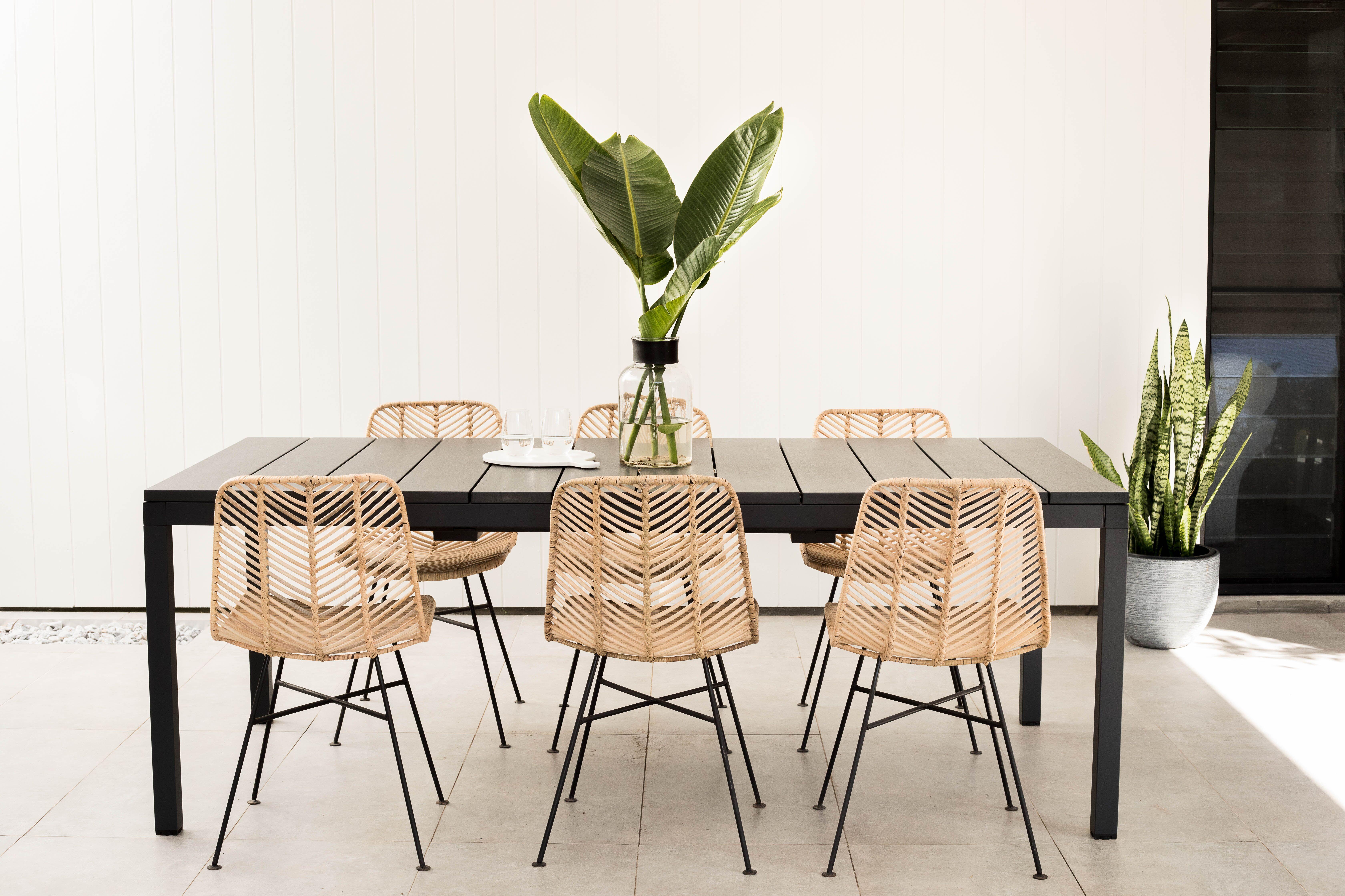 Loft Vee Rattan Dining Chair Loft Furniture