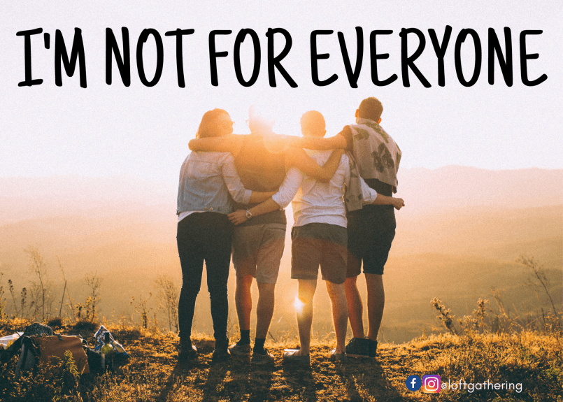 I'm Not For Everyone Series Logo