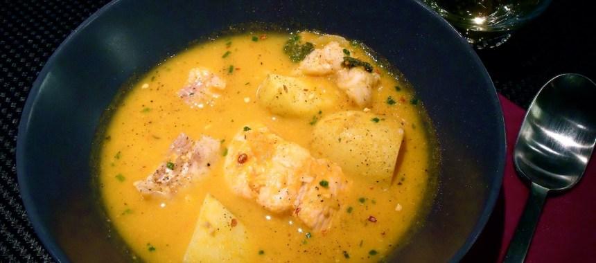 La soupe de poisson…