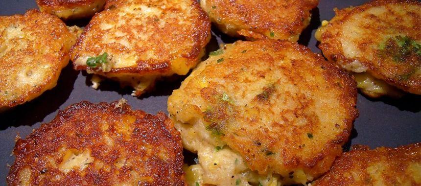 Croquettes de poulet au maïs