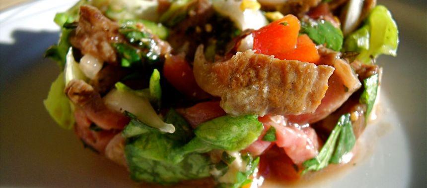 Salade de boeuf à la thaïlandaise