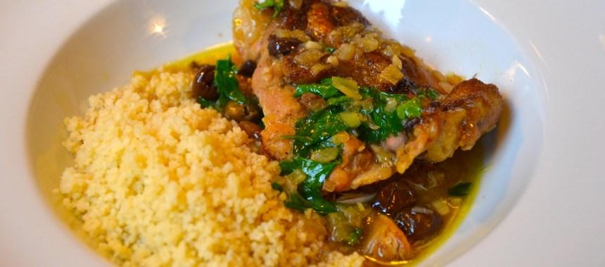 Tajine de Baupy au poulet, olives et citrons confits de ma maman…