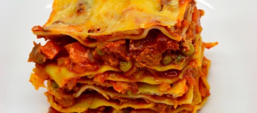 Lasagne au chorizo