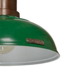 Lampa industrialna Verda - Dark Green