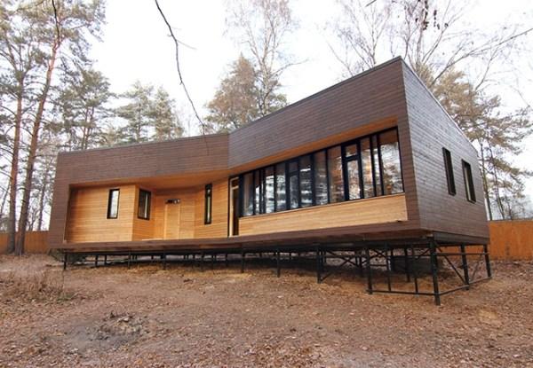 Финские каркасные дома под ключ в СПб
