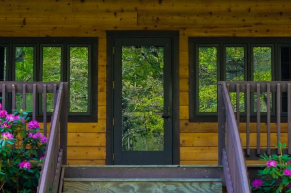How To Choose The Right Doors For Your Home | The Log Home ...