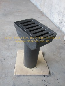 Deck Drain Cast Iron Medium