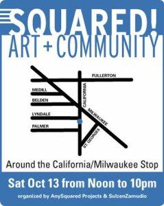 Squared! Art + Community Logo