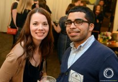 LoganSquarist Ambassadors Theresa Boehl and Jesse Buendia