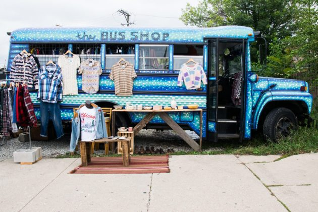 The Bus Shop: A Vintage Clothing Stop