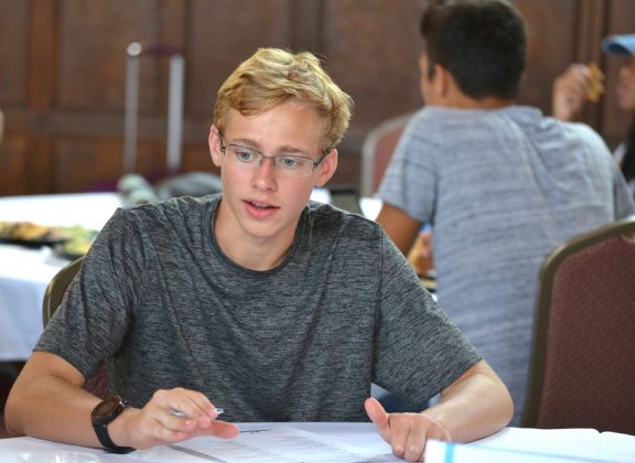 DePaul Prep Student Gavin Swartz Awarded STEM Scholarship