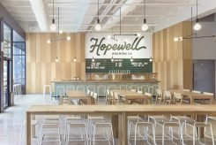 The Hopewell Brewing Company's taproom offers 10 different beers on draft as well as tours at 5 pm on both Saturday and Sunday. We will also be launching our new bottle series, some styles only available in the taproom!