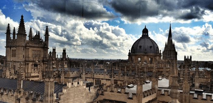 View from Sheldonian Theater