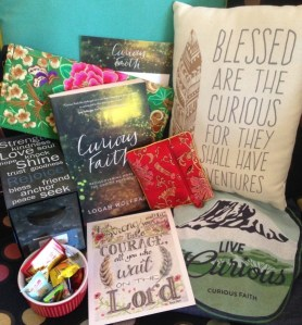 Celebrating Curious Faith with a Gift Basket!