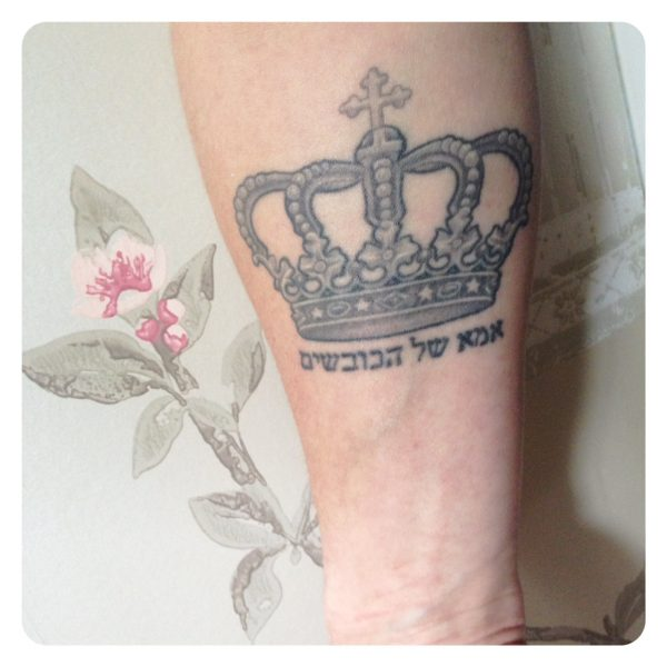 mother of warriors tattoo
