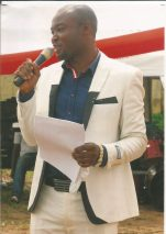 Ikemba Martin Opara at an event