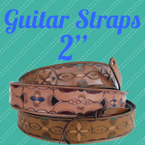 Custom Leather Guitar Straps- 2