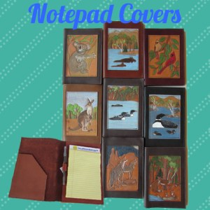 Leather Notepad/Padfolio Covers