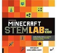 Minecraft STEM Lab book for STEM course