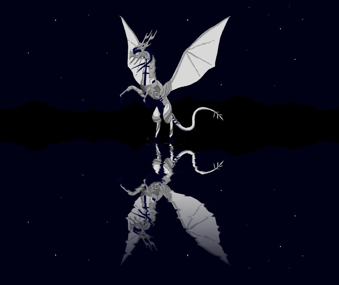 Corrin en dragon