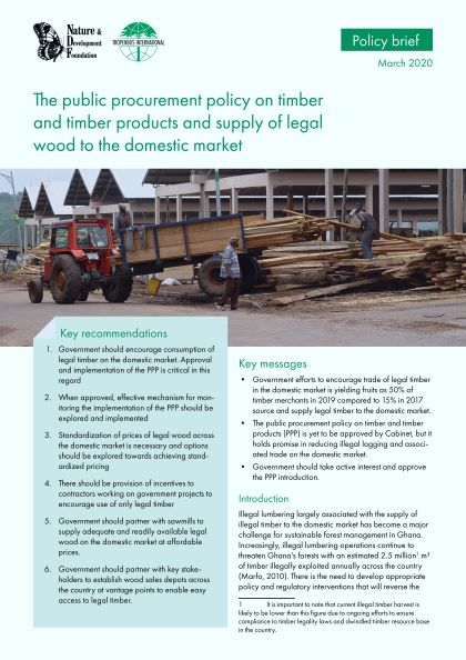 Find their customers, contact information, and details on 2 shipments. The Public Procurement Policy On Timber And Timber Products And Supply Of Legal Wood To The Domestic Market Loggingoff