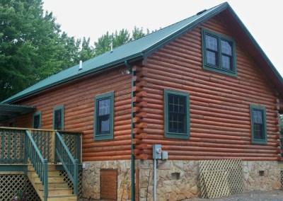 Complete Log Home Restoration