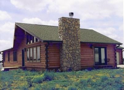 New Log Home #35