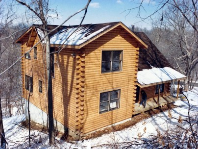 New Log Home #37