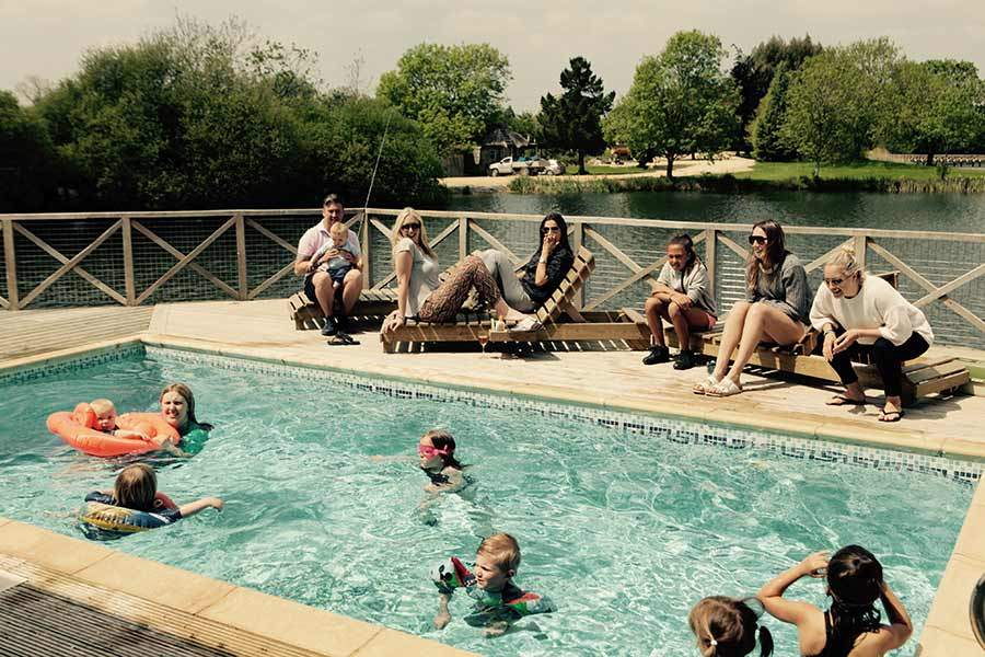 Family Holiday With Pool