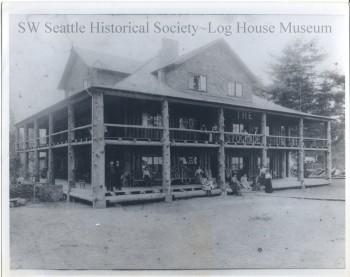 The Stockade Hotel, ca. 1905.