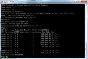 FTP команды в Linux