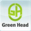 Антивирус для OS Android - Green Had - Логотип