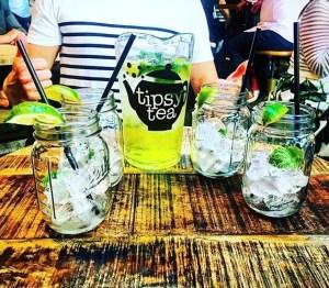 Tipsy Tea Image of Sharing Jug