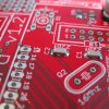 Red Motherboard IT Infrastructure