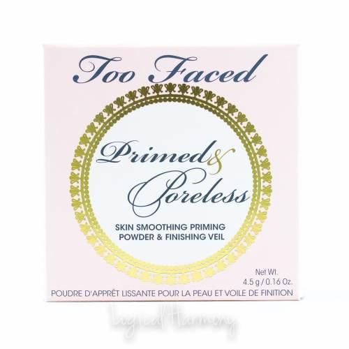 Too Faced Primed & Poreless Priming Powder Review