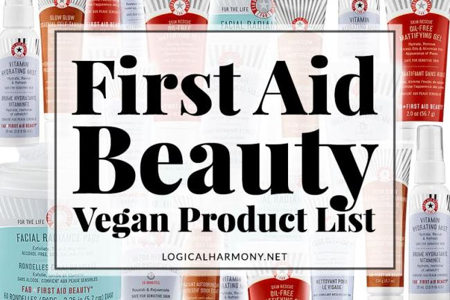 First Aid Beauty Vegan Products List