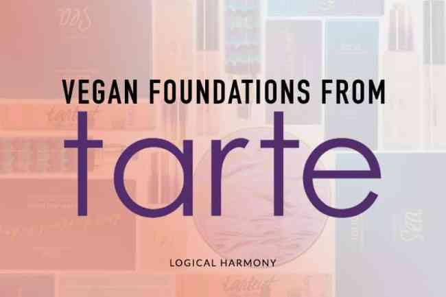 Tarte Vegan Foundation Guide
